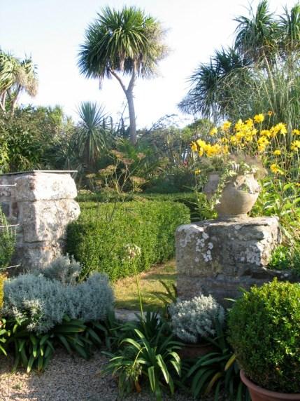 Sundial garden entrance