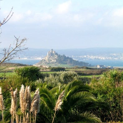 The garden and Mounts bay