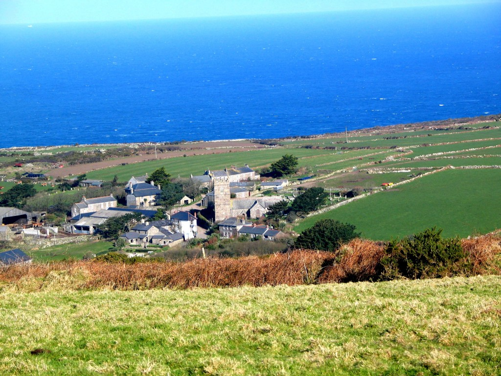 Zennor gateway to the grandeur to the cornish cliffs