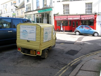 Milk float french style