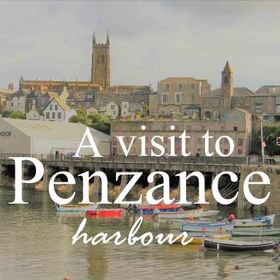 Harbour scene in Penzance