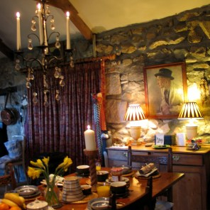Breakfast table for Easter mroning