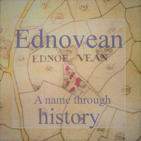 Ednovean Farm - a historic name upon the Tithe map spelt Ednoe Vean