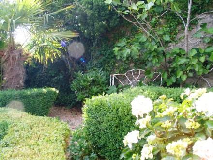 A courtyard corner