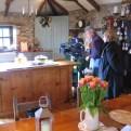 Ednovean Farm kitchen and the Media