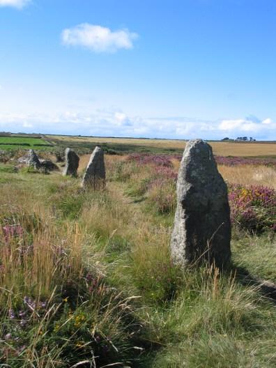 Tregeseal Stone circle