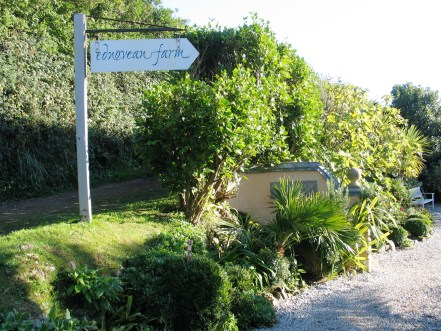 Ednovean Farm entrance