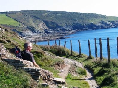 Coastal footpath east of perranuthnoe