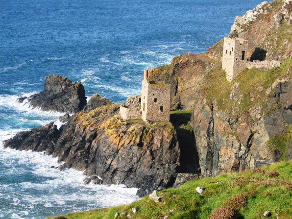 The lower and upper engine houses Botallack