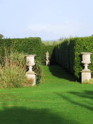 Italian Gardens for our B&B guests