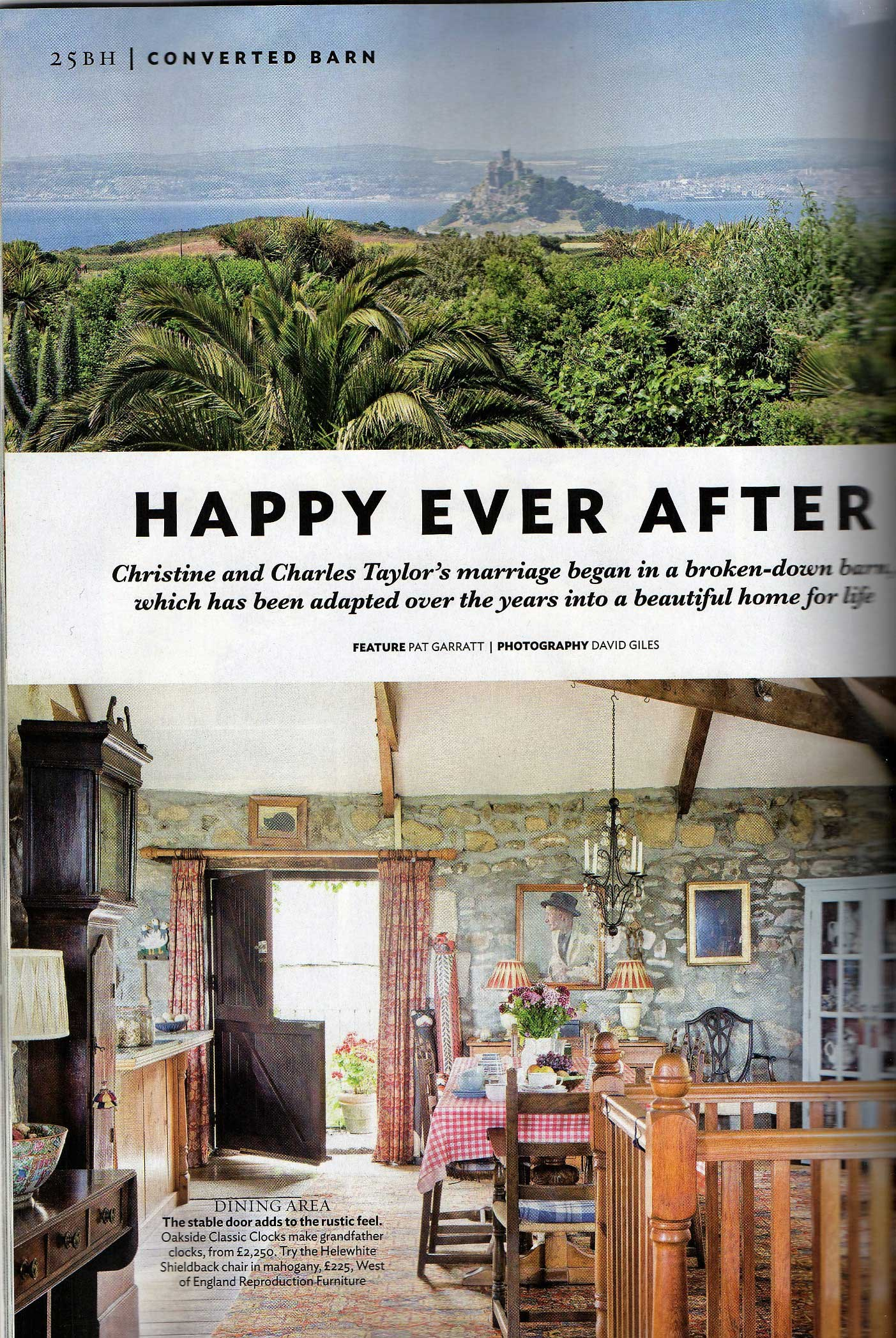 happy ever after magazine article