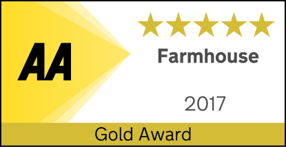AA Five star Gold Farmhouse award