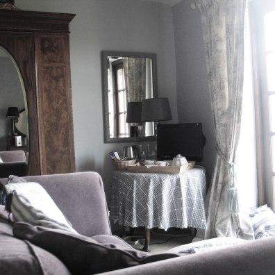 A pretty corner for a tea tray