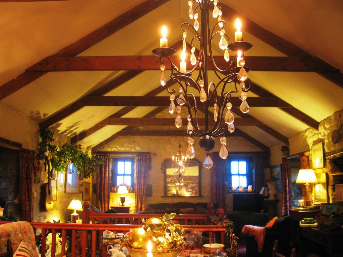 New Years day at Ednovean farm breakfast room