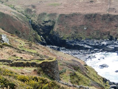 The rugged isolation of the cornish cliffs walking from Zennor to Gurnard's head