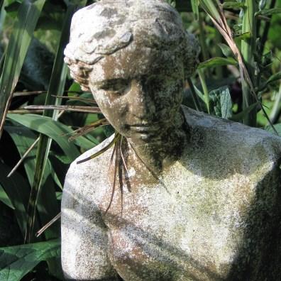 Statues are wonderful garden details