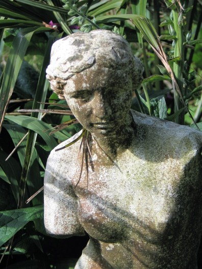 Statues are wonderful garden details