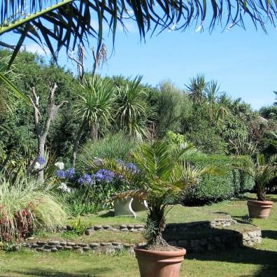 The heat of the Italian garden