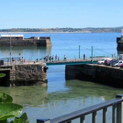 The ross brige over the dry dock entrance in Penzance
