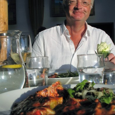 A birthdya supper and lobster for two overlooking the sea