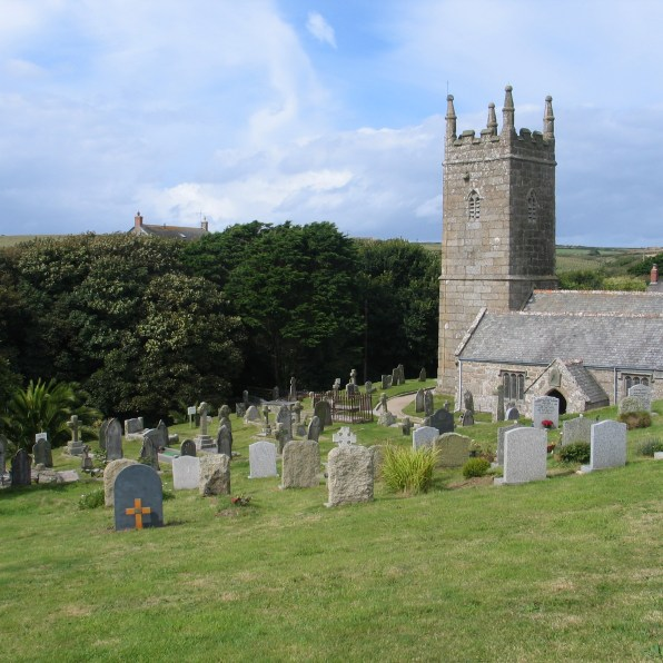 There is an imaculate car park behind St Levan churchfor visitors to porth Chapel beach