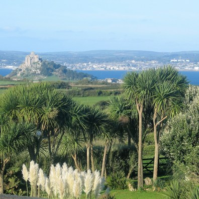 october view over pampass to st micheal's Mount