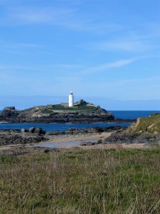 Godrevy lighthouse on Godrevy Isaland