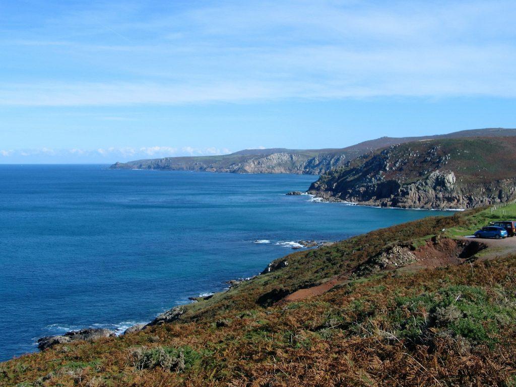Cornwall's unspoilt coast in autumn