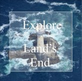 Explore Land's End areil view of wolf rock lighthouse