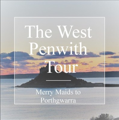 The west Penwith Tour Merry Maids to Porthgwarra