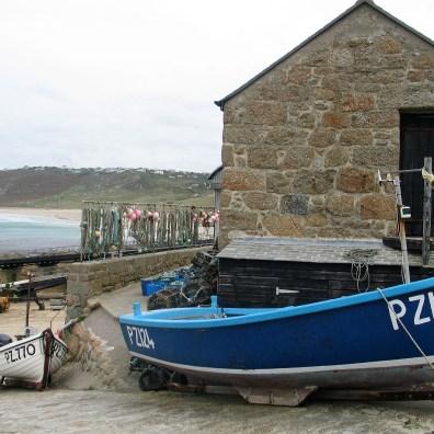 nostalgic scene of a fishing boat