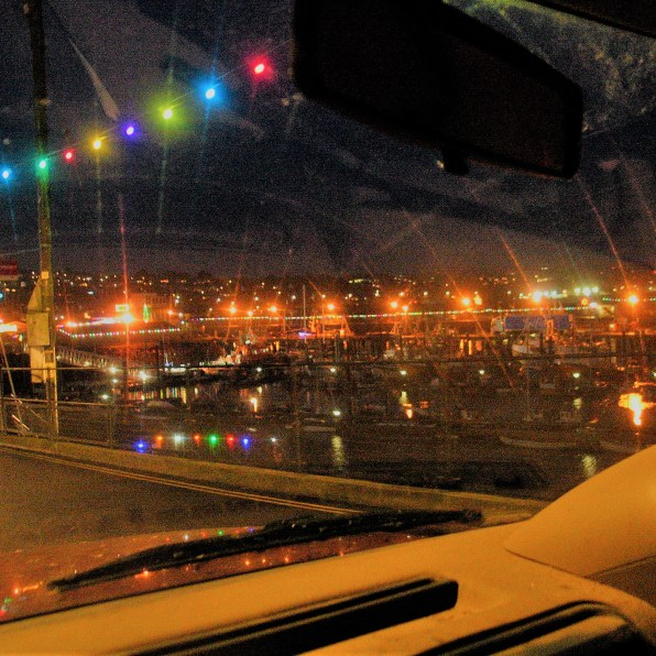 Christmas drive in cornwall
