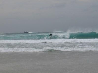 Surfer at Sennen
