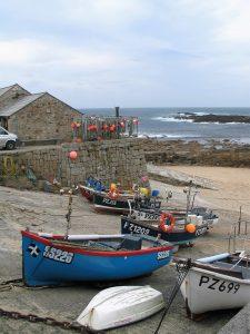 Nostalgic cornish harbour