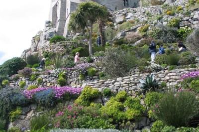 St Michael's Mount gardens