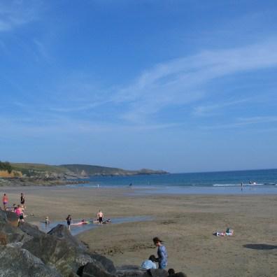 A beach picnic perfect in a heatwave