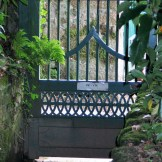 antique gate