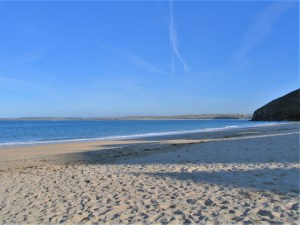 powdery white snads meet blue seas and skies - Carbis Bay