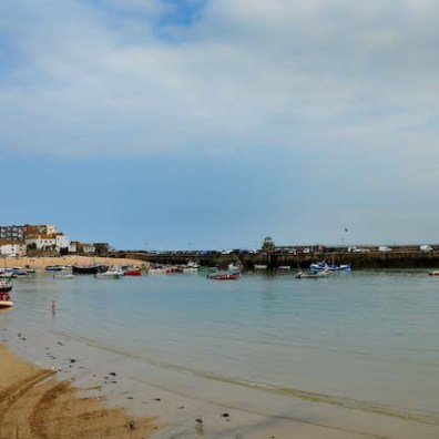 Former artists colony St Ives