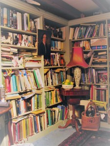 Bookshelves hold a thousand memories