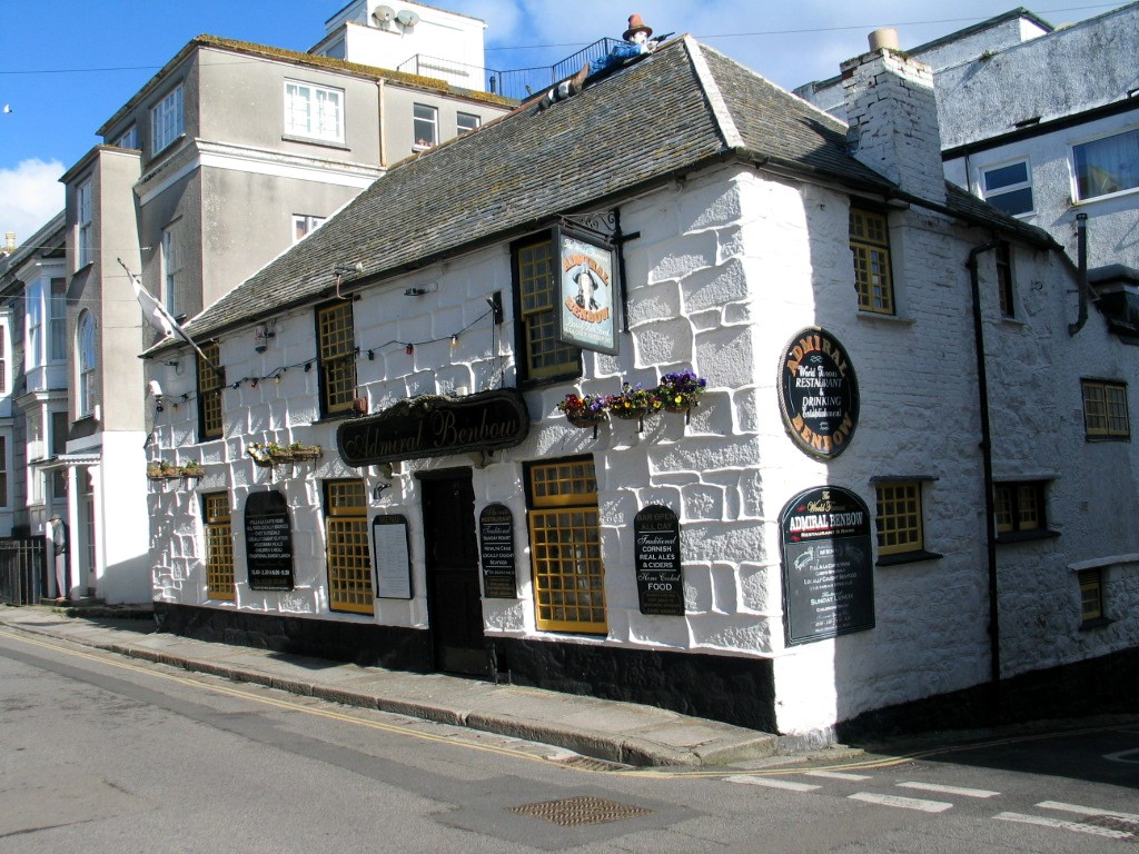 The Admiral Benbow used as a film location