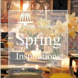 Four spring inspirations to enjoy the season - table set with Daffodils at Ednovean Farm