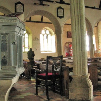 Exploring Breage church