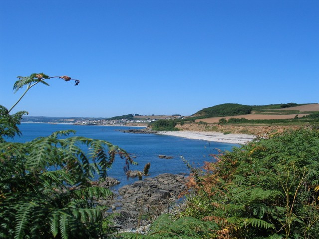 We found cooling sea breezes on a cornish cove