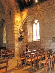 Chapel - bronze St Michael' the Archangel