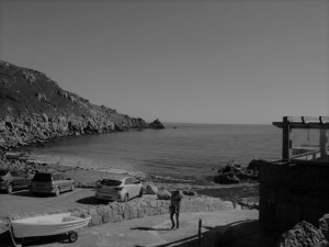 Parking on harbour- Lamorna Cove