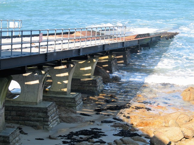 Lifeboat slipway - Sennen