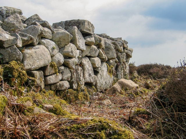 Dry Stone walls Chun castle