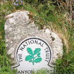 national Trust sign for Lanyon Quoit