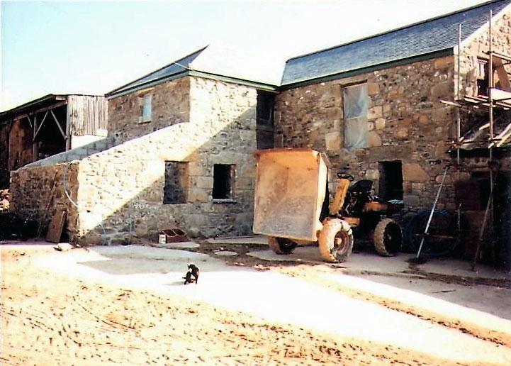 Ednovean Farm B&B before work began